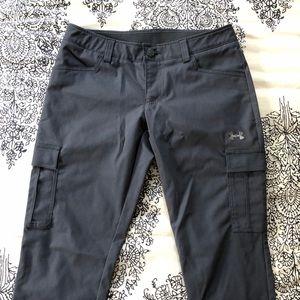Under Armour Slim Cargo Pants Size 8